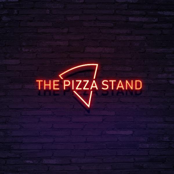 로고 + 간판 | THE PIZZA STAND | 라우드소싱 포트폴리오