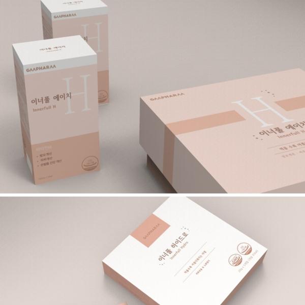 패키지 디자인 | 이너풀 제품 패키지 디자인 | 라우드소싱 포트폴리오