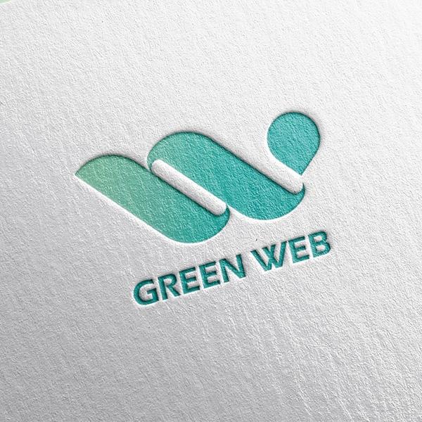 로고 + 명함 | (주)그린웹코리아 | 라우드소싱 포트폴리오