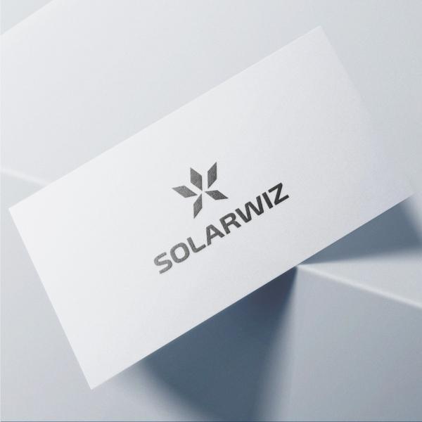 로고 + 명함 | 솔라위즈 | 라우드소싱 포트폴리오