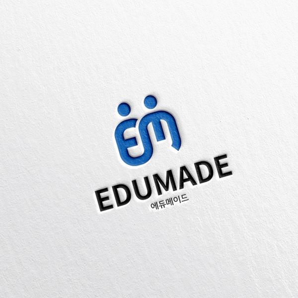 로고 + 명함 | (주)에듀메이드 | 라우드소싱 포트폴리오