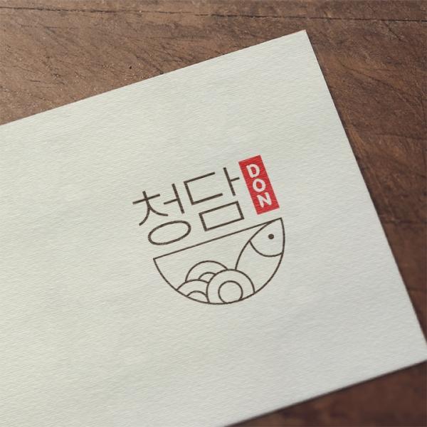 로고 + 간판 | 청담don | 라우드소싱 포트폴리오