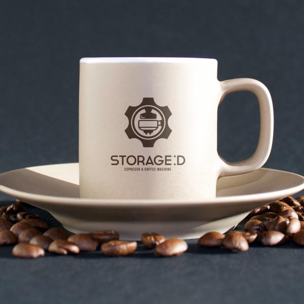 로고 + 명함 | Storage D coffee... | 라우드소싱 포트폴리오
