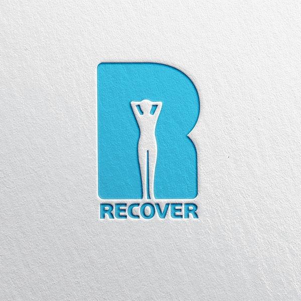 로고 디자인 | 리커버 필라테스&PT 로... | 라우드소싱 포트폴리오