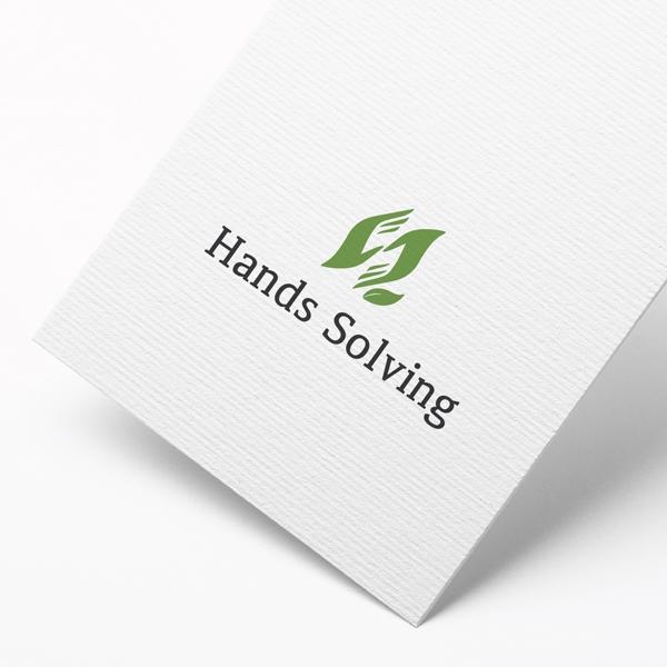 로고 디자인 | Hands Solving... | 라우드소싱 포트폴리오