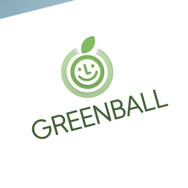 로고 + 명함 | 그린볼(Greenball) | 라우드소싱 포트폴리오