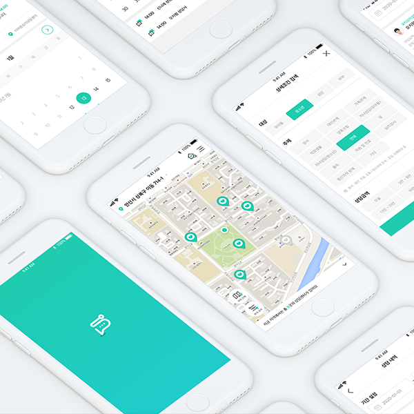 모바일 앱 | 심리상담플레이스 심플 (Simpl) | 라우드소싱 포트폴리오