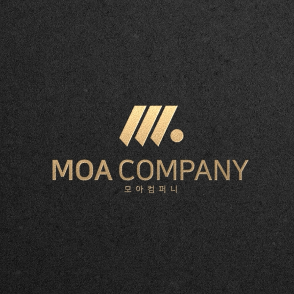 로고 + 명함   모아 컴퍼니 디자인 의뢰   라우드소싱 포트폴리오