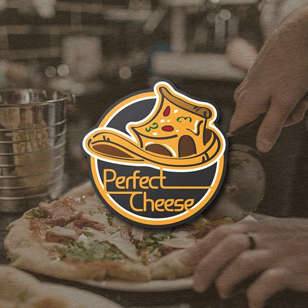 로고 디자인   배달 전문 피자 브랜드 ...   라우드소싱 포트폴리오