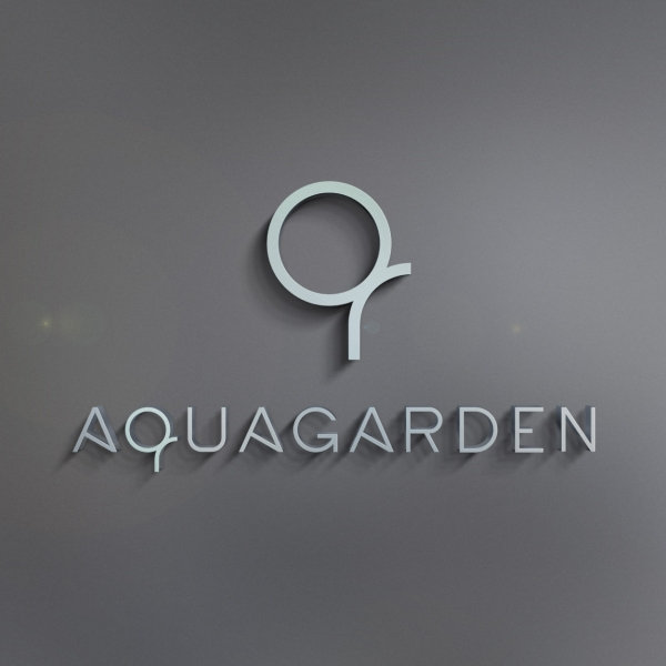 로고 디자인 | AQUAGARDEN | 라우드소싱 포트폴리오
