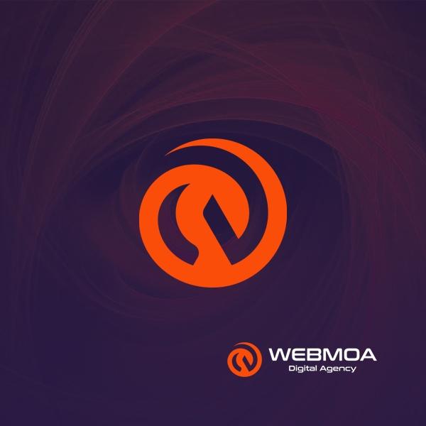 로고 디자인 | (주)웹모아 | 라우드소싱 포트폴리오