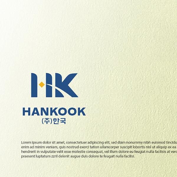 로고 디자인 | (주)한국 로고디자인 의뢰 | 라우드소싱 포트폴리오