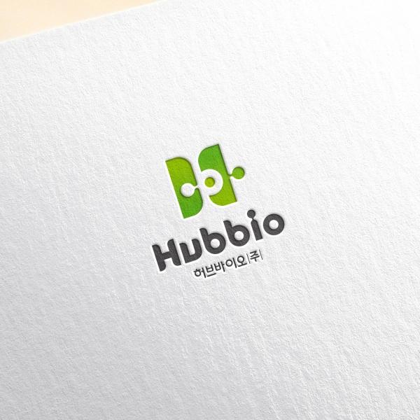 로고 + 명함 | 허브바이오(주) | 라우드소싱 포트폴리오