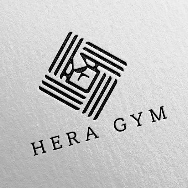 로고 + 간판 | HERA GYM | 라우드소싱 포트폴리오