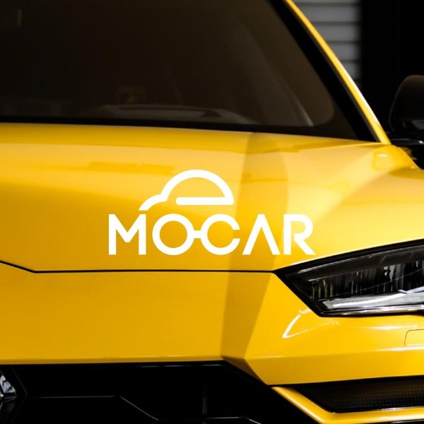 로고 + 명함 | 모카(MOCAR) 로고+... | 라우드소싱 포트폴리오