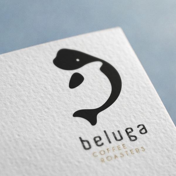 로고 디자인 | Beluga Coffee Ro... | 라우드소싱 포트폴리오