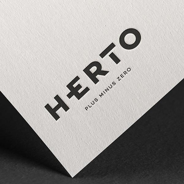 로고 디자인   화장품 브랜드 HERTO...   라우드소싱 포트폴리오