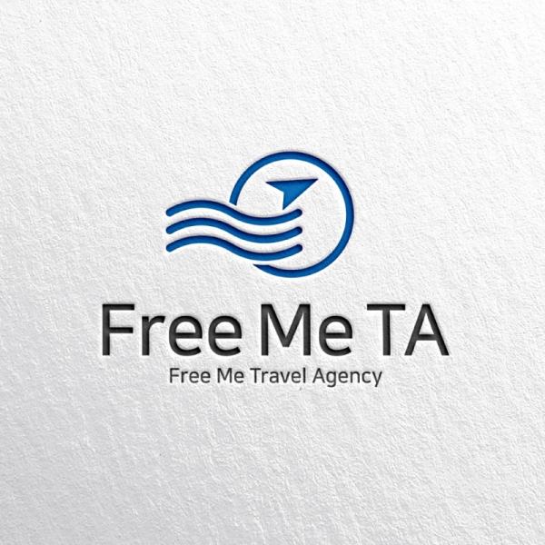 로고 + 명함 | Free Me TA (Trav... | 라우드소싱 포트폴리오
