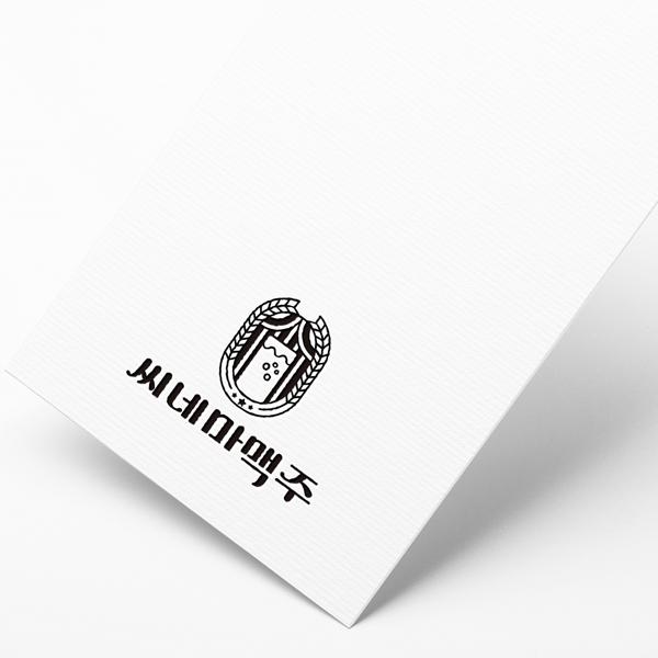 로고 디자인 | 씨네마맥주 로고디자인 | 라우드소싱 포트폴리오
