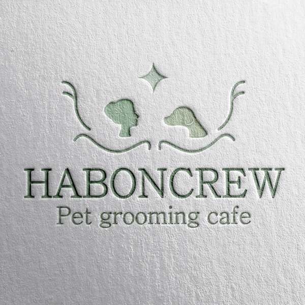 로고 + 간판 | Pet grooming caf... | 라우드소싱 포트폴리오