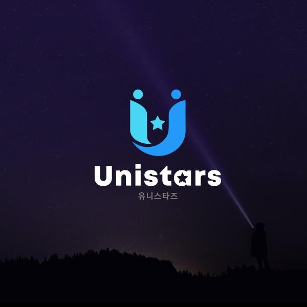 로고 디자인   유니스타즈그룹로고   라우드소싱 포트폴리오