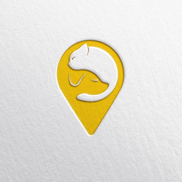 로고 + 명함 | 펫택시 회사 로고, 서비... | 라우드소싱 포트폴리오
