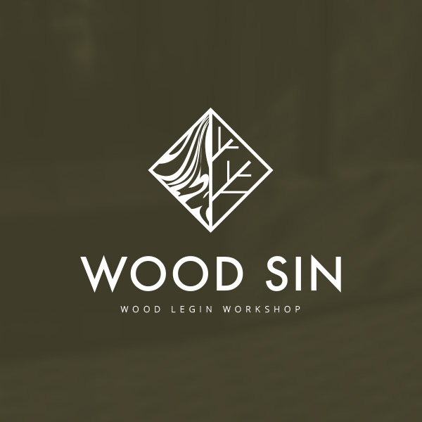 로고 디자인 | Wood Sin  | 라우드소싱 포트폴리오