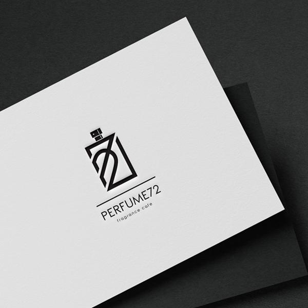 로고 디자인 | PERFUME72 로고 ... | 라우드소싱 포트폴리오