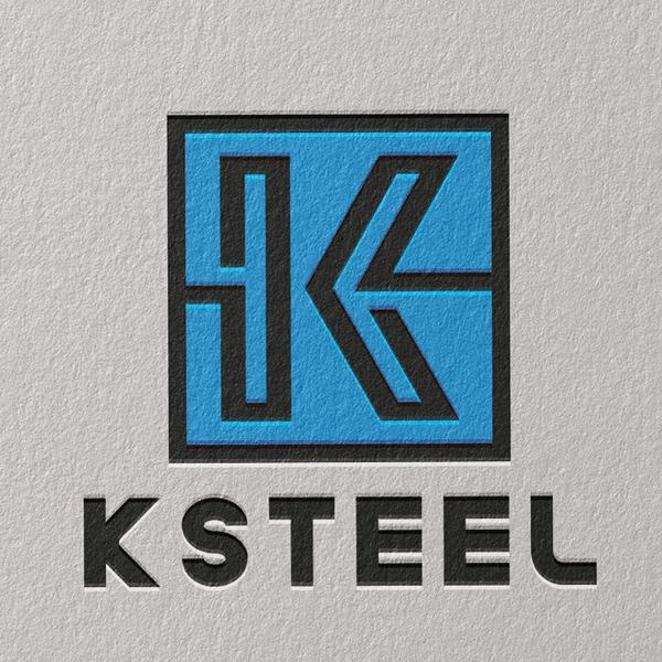 로고 디자인 | 케이스틸주식회사 (K STEEL) | 라우드소싱 포트폴리오
