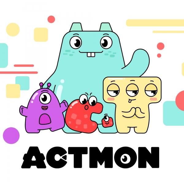 캐릭터 디자인 | ACTMON 캐릭터 컨셉... | 라우드소싱 포트폴리오