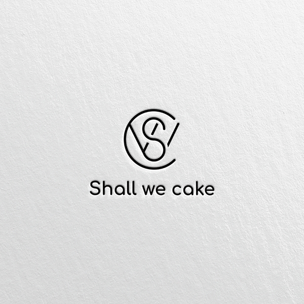 로고 디자인 | Shall we cake | 라우드소싱 포트폴리오