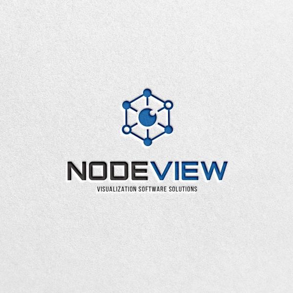 로고 디자인 | NODEVIEW(통합관제... | 라우드소싱 포트폴리오