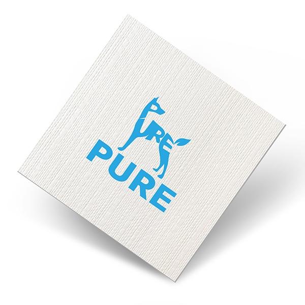 로고 + 명함 | 퓨어 로고,명함 디자인 의뢰 | 라우드소싱 포트폴리오