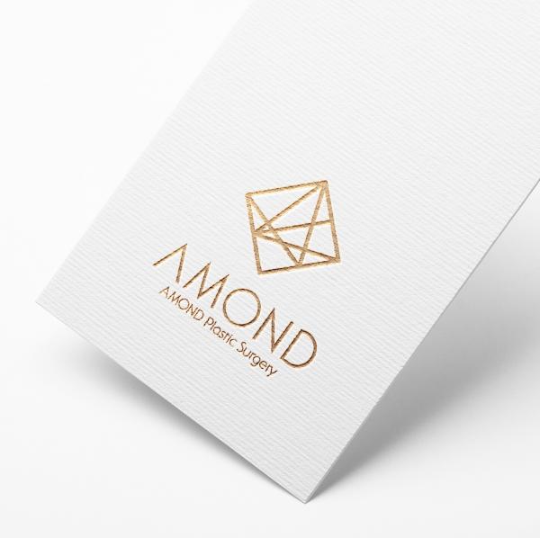 로고 + 간판 | 아몬드 성형외과 (AMOND ... | 라우드소싱 포트폴리오