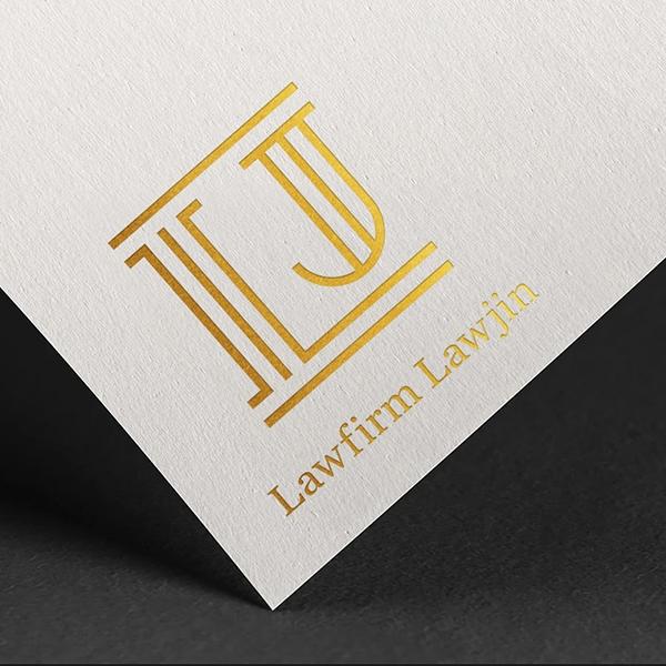 로고 + 명함 | 법률사무소 로진 로고 디... | 라우드소싱 포트폴리오