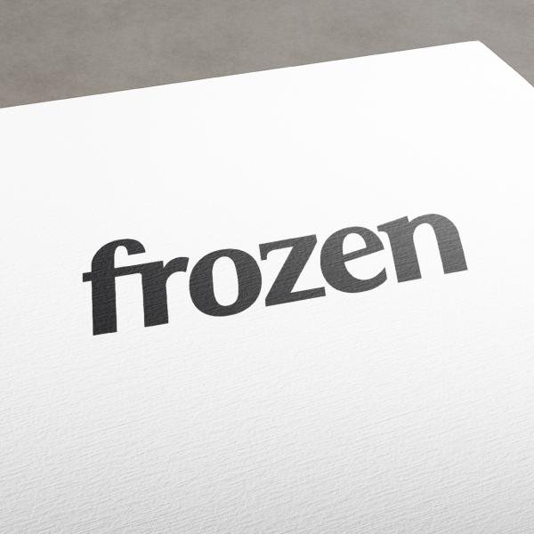 로고 디자인 | [프로즌] 간편식품 로고... | 라우드소싱 포트폴리오