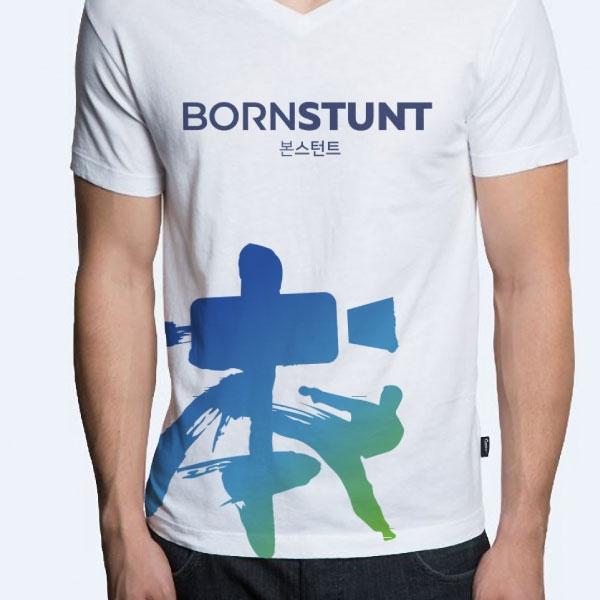 로고 + 명함 | 본 스턴트(BORN STUNT) | 라우드소싱 포트폴리오