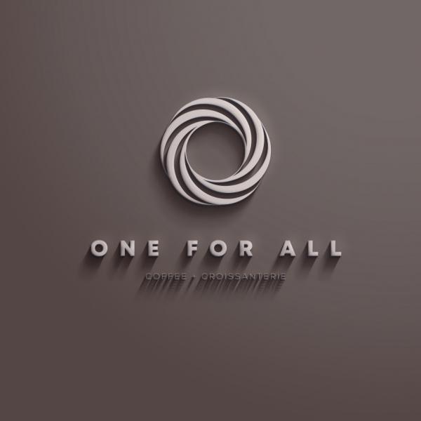 로고 + 명함 | ONE FOR ALL | 라우드소싱 포트폴리오