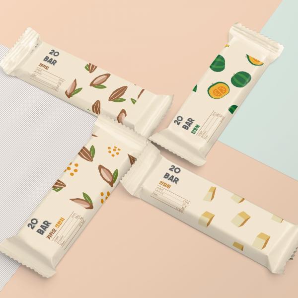 패키지 디자인 | 프로틴바 패키지 디자인 제작 | 라우드소싱 포트폴리오