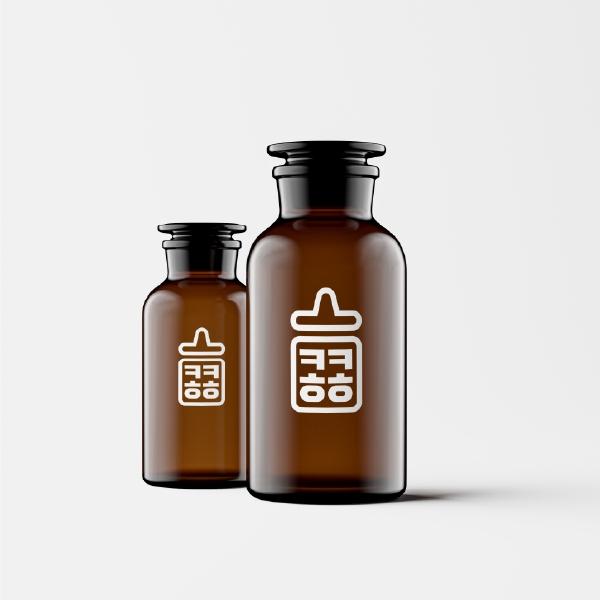 로고 디자인 | 콩콩쥬스 브랜드 로고 디... | 라우드소싱 포트폴리오