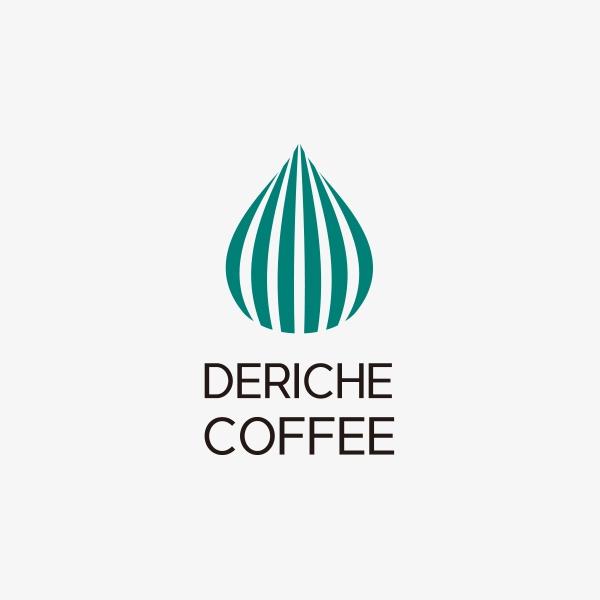 로고 + 간판 | DERICHE COFFEE  ... | 라우드소싱 포트폴리오