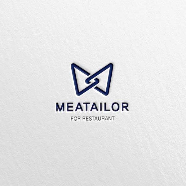 로고 디자인 | MEATAILOR(미트테... | 라우드소싱 포트폴리오