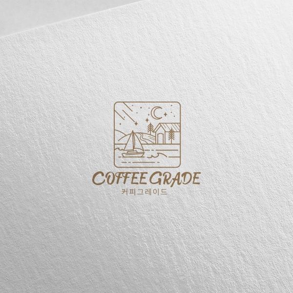 로고 디자인   커피그레이드 로고 디자인 의뢰   라우드소싱 포트폴리오