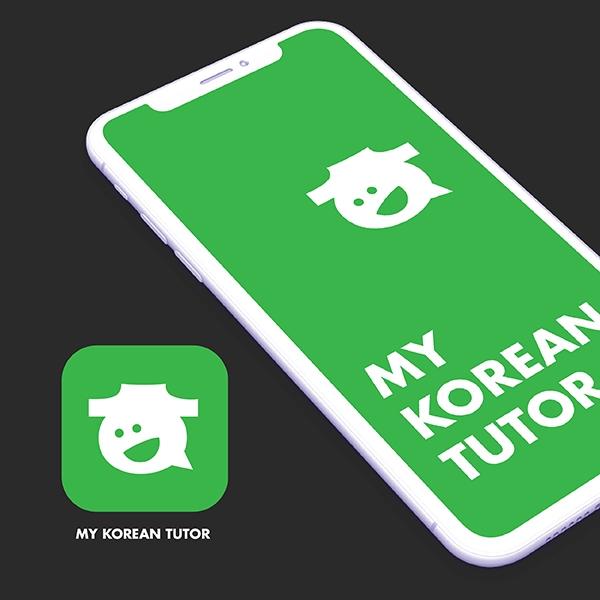 로고 + 명함 | My Korean Tutor | 라우드소싱 포트폴리오