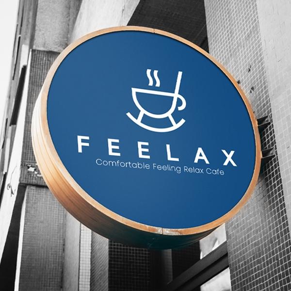 로고 + 명함 | 로스팅 전문 카페 Fee... | 라우드소싱 포트폴리오