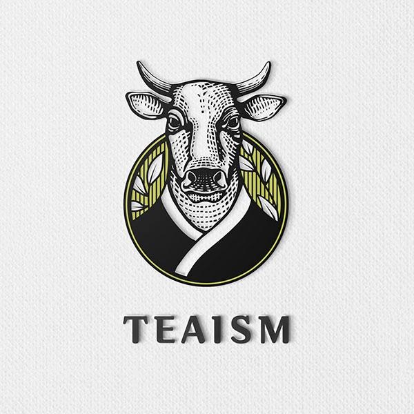 로고 디자인 | 티이즘 / TEAISM | 라우드소싱 포트폴리오