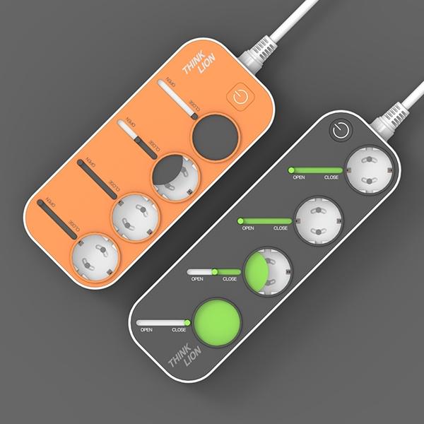제품 디자인 | 멀티탭 콘센트 제품 디자인 | 라우드소싱 포트폴리오