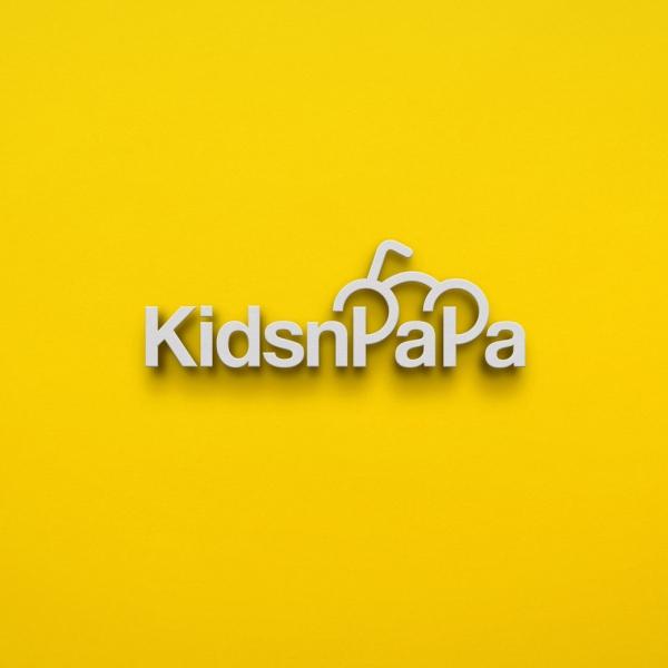 로고 디자인 | 키즈앤파파 로고 디자인 의뢰 | 라우드소싱 포트폴리오